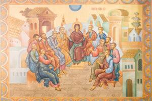 Роспись и иконы храма